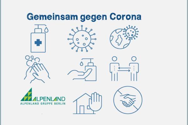 Gemeinsam gegen Corona-Alpenland Berlin Jobs 3