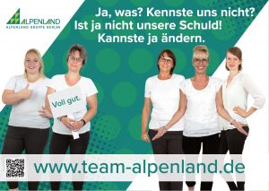 Alpenland in ganz groß-Alpenland Berlin Jobs 1