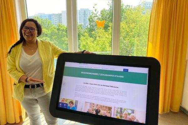 CareTable - digitaler Aktivitätstisch für Pflegeeinrichtungen-Alpenland Berlin Jobs 1